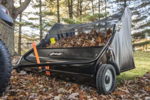 Agri-Fab Tow-Behind-Lawn Sweeper, 52-inches