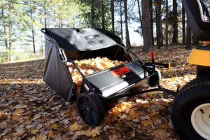 Brinly-STS-427LXH 20 Cubic-Ft-Tow Behind-Lawn-Sweeper