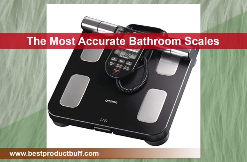 Top 5 The Most Accurate Bathroom Scales