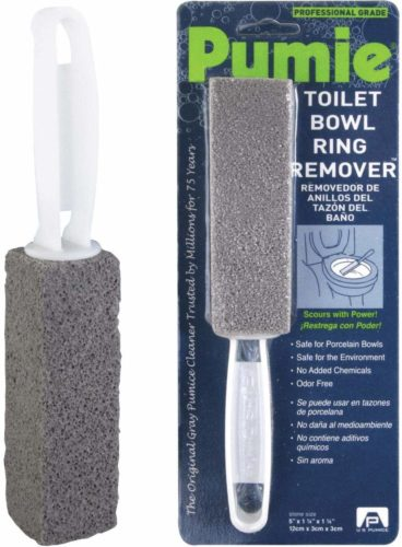#2. Pumie-Toilet-Bowl-Ring-Remover, Best ring remover for mild abrasive action