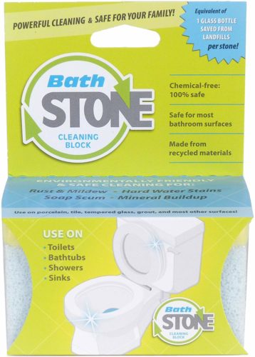 #7. EarthStone-Bath Stone-Environmentally-Friendly-Cleaning-Block, Best ring remover for safety around kids and pets