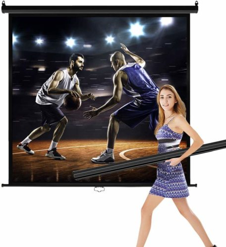 Projector-Screen 119-inch Diagonal, It's compatible with more projectors
