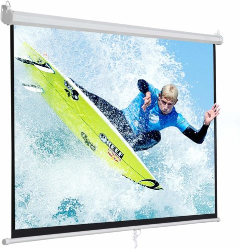 SUPER-DEAL PRO-Projection Screen, More durable