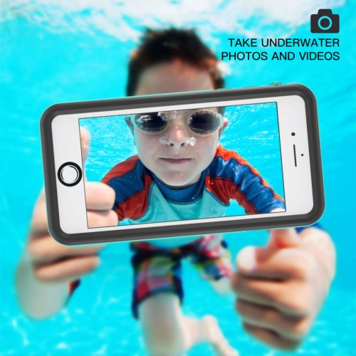 #7. Fansteck Waterproof Case for iPhone 8,The best stylish waterproof phone cases for iPhone 8