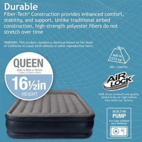 The best queen size air mattress for camping