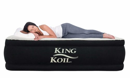 King Koil California air mattress, The best lightest air mattress for camping