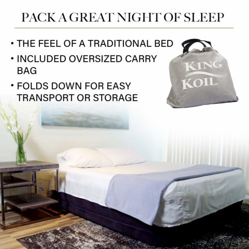 King Koil Queen Air Mattress,The best and toughest air mattress for everyday use