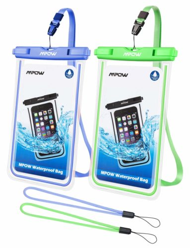 # 8. Mpow fluorescent waterproof phone case,The best lockable waterproof phone cases for iPhone 8