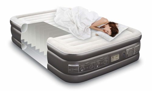 Noble QUEEN SIZE air mattress,The best waterproof air mattress for everyday use