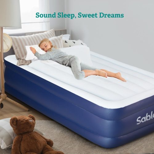 Sable Air Mattress Twin Size,The best high quality air mattress for everyday use