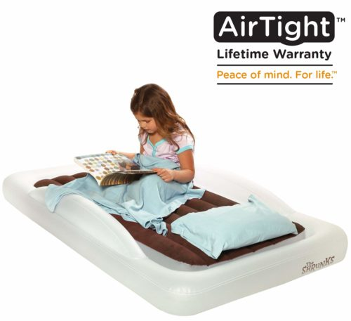 The shrunk air mattress, The best camping air mattress for toddlers