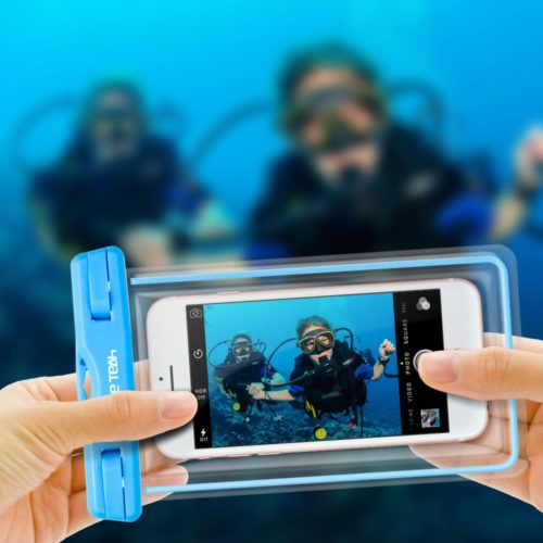 #5. Ace Teah waterproof phone case,The best and lightest waterproof phone cases for swimming