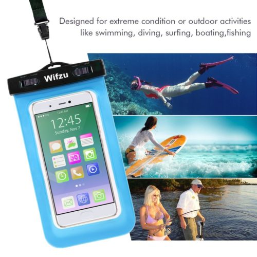 #1. Wifzu waterproof phone case, The best and perfect waterproof phone cases for swimming