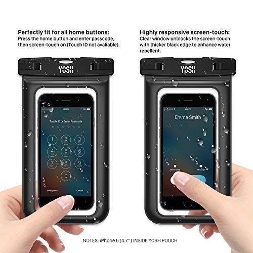 # 8.YOSH waterproof phone case, The best and solid waterproof phone cases for swimming