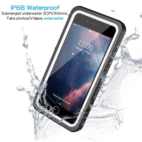 #5. Lanwow iPhone 8 waterproof case,The best perfect waterproof phone cases for iPhone 8