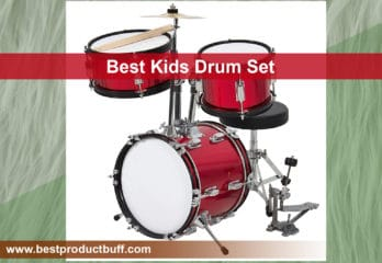 Top 10 Best Kids Drum Sets Review in 2020
