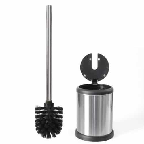 Deluxe-Toilet-Brush-with-Lid, Best for convenience