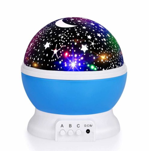 Best moon and star night light projector for kids