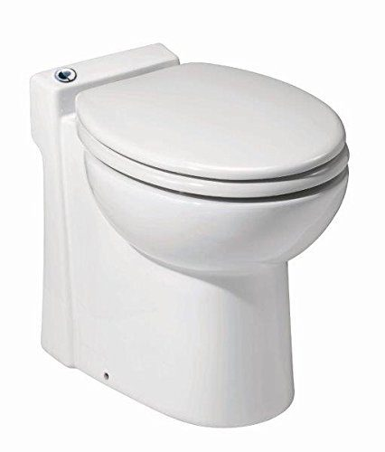 #10. Saniflo-023-Sanicompact Self Contained Toilet, Best luxury composting toilet for water conservation