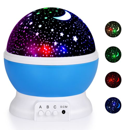 Best moon and star night light projector for a romantic affair