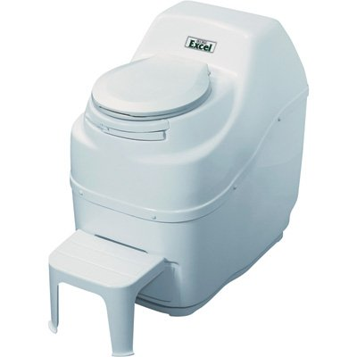 #3. Sun Mar Excel Self Contained, Best luxury composting toilet for a family