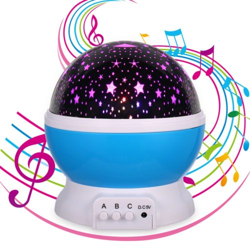 Best moon and stars night light projector for multiple color projection