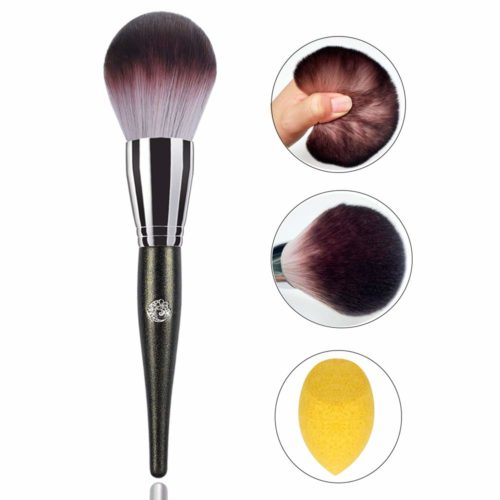 Best makeup brush for loose and compact powder