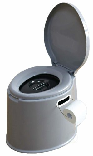 #9. Basicwise-Portable-Travel-Toilet, Best luxury composting toilet for Camping & Hiking