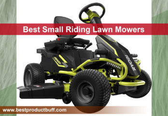 Top 10 Best Small Riding Lawn Mowers Review in 2020