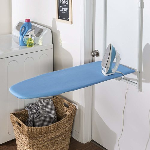 #10. Honey-Can-Do-Door-Hanging-Ironing-Board, the most conveniene for user