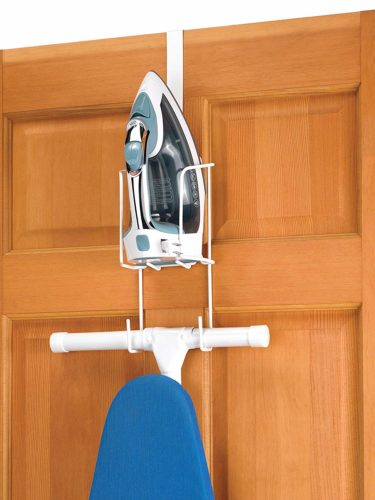 #6. Whitmor Wire Over The Door Ironing Caddy, Best for both style and convenience