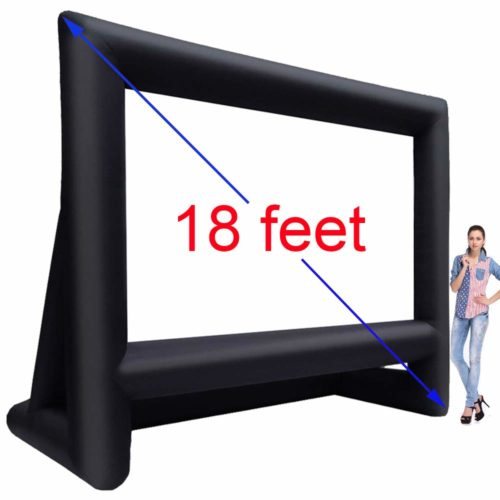 Inflatable-Outdoor-Projector-Movie-Screen,Best for quality pictures