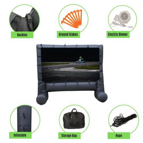 Houseables-Projector-Inflatable-Polyester-Inflatables,Has detachable screen