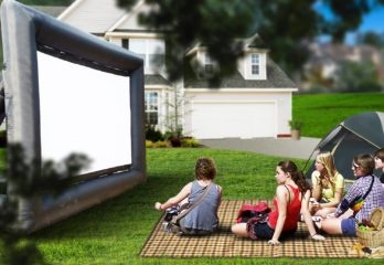 Top 10 Best Outdoor Projector Screen Inflatables in 2020 Review