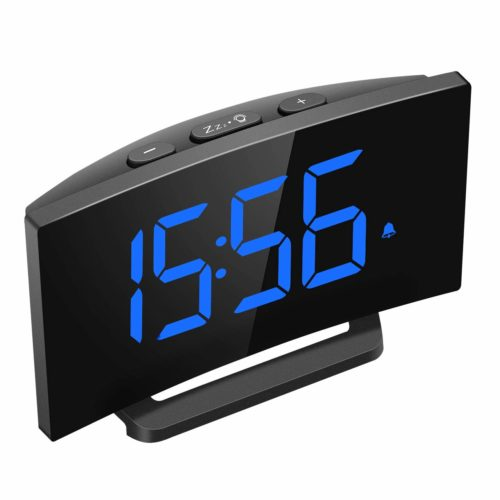 Mpow-Digital Curved-screen-Display Adjustable, Has curved-screen