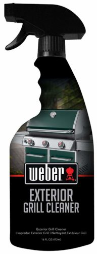 Weber W65 Exterior Grill Cleaner,The best exterior grill cleaner for quick results