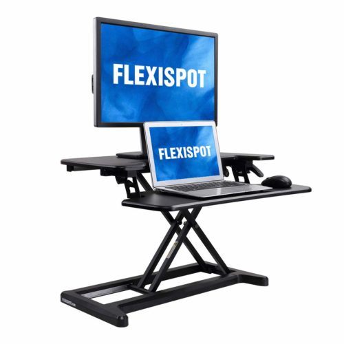 FlexiSpot-Converter Standing-Keyboard M7B, Integrated with air-technology