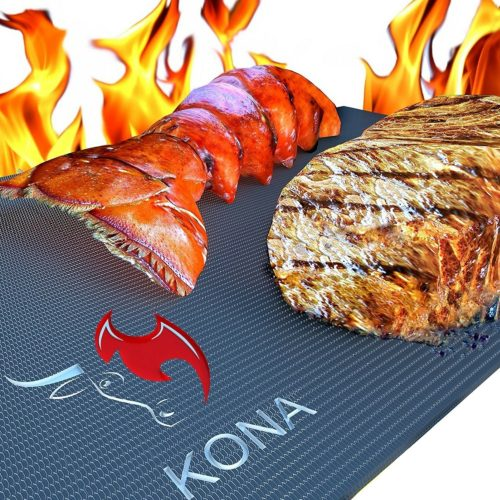 Kona Best BBQ Grill Mat -The best large grill mat for outdoor use