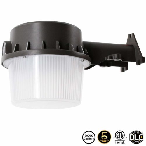 250-350W Equivalent Floodlight - Has rugged-aluminum housing