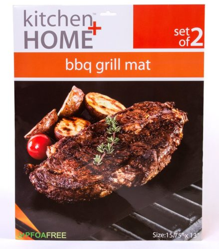 Kitchen + Home - BBQ Grill Mats - The best large grill mat for general application