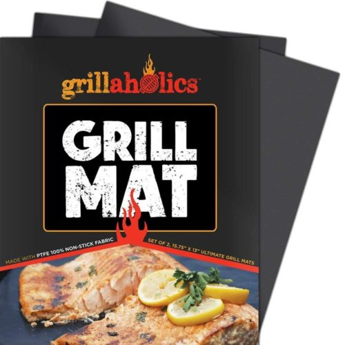 Grillaholics Grill Mat - The best large grill mat for top results