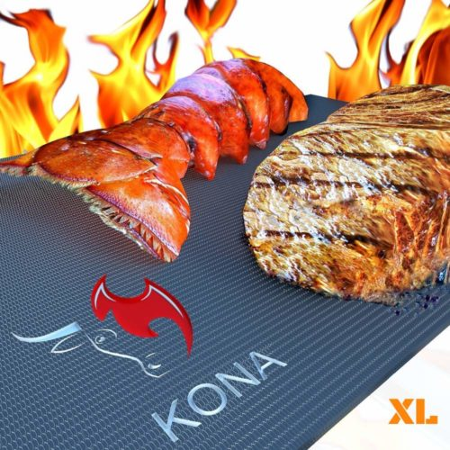 Kona XL Grill Mat -The ease to wash grill mat for concrete patio