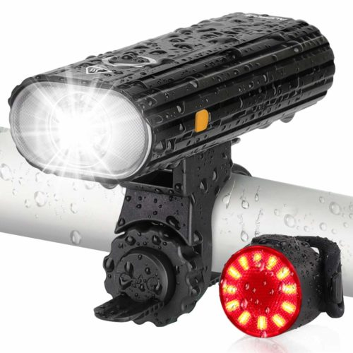 AUOPLUS Rechargeable Headlight Tail - Has 800-Lumen