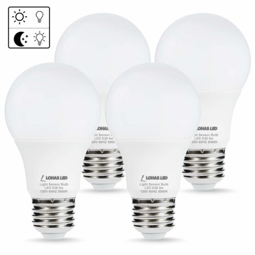 #8. LOHAS-Daylight Security Outdoor Lighting - Gives one a cozy & fresh lighting