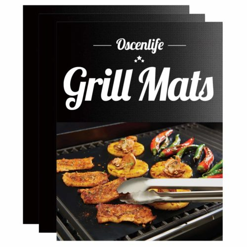 OscenLife BBQ Grill Mats - The best large grill mat for sufficiency