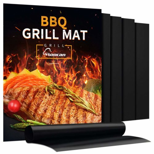 Aoocan Grill Mat -The best perfect grill mat for concrete patio