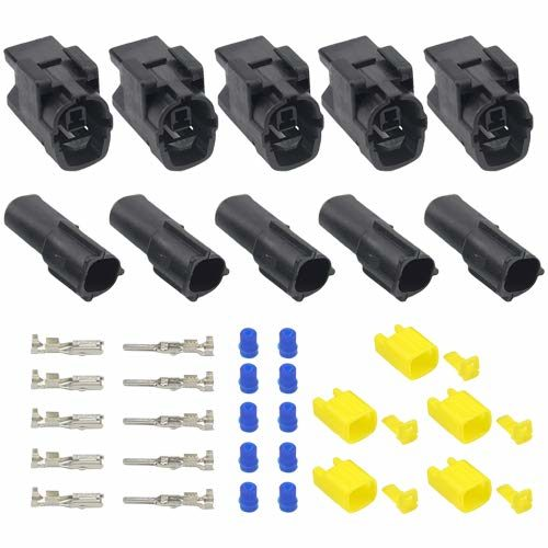 WMYCONGCONG 5 Kit 2 way waterproof Electrical connector