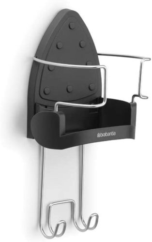 Brabantia Wall-Mounted Rest and Hanging Ironing Board Holder