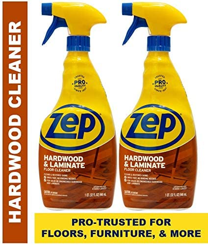 Zep Hardwood & Laminate Floor Cleaner 32 Ounce ECZUHLF322 (Pack of 2)