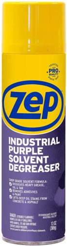 Zep Industrial Purple Degreaser Solvent 13 ounce